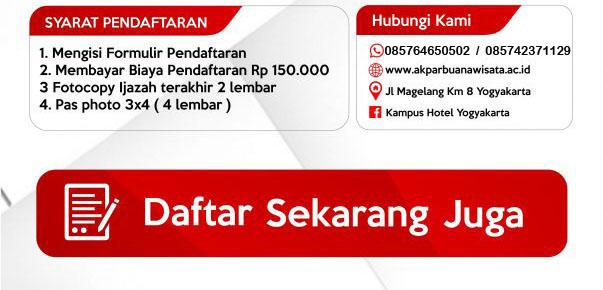 Daftar-PMB-Akpar-Buana-Wisata-Yogyakarta